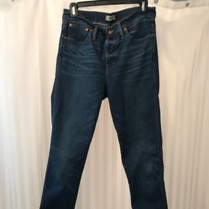 Madewell Jeans, size 30 Tall